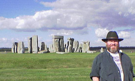 Photo of EWA at Stonehenge