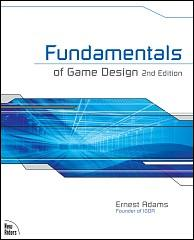 The cover of Fundamentals of Game Design, Second Edition