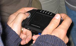 Photo of Gizmondo device