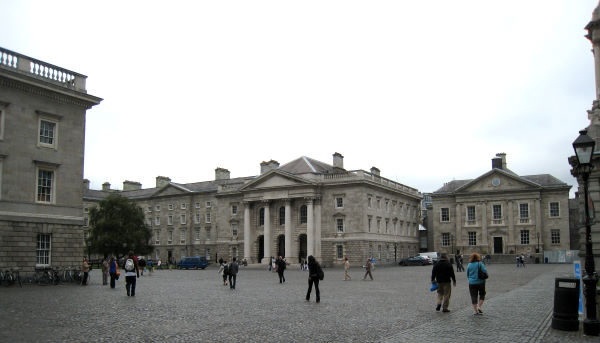 Trinity College exterior view