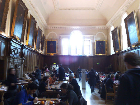 Trinity dining hall