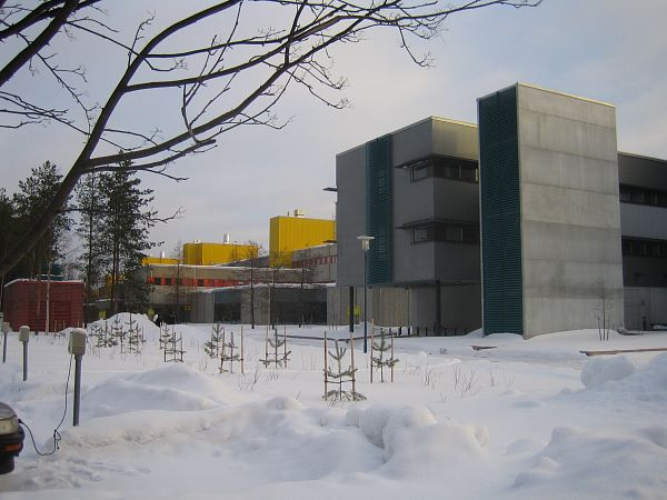 Photo of University of Oulu in winter