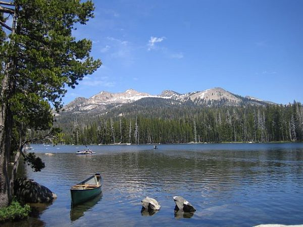 Wright's Lake, in the Sierra Nevada mountains.